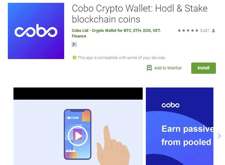 Cobo  Crypto currency wallet