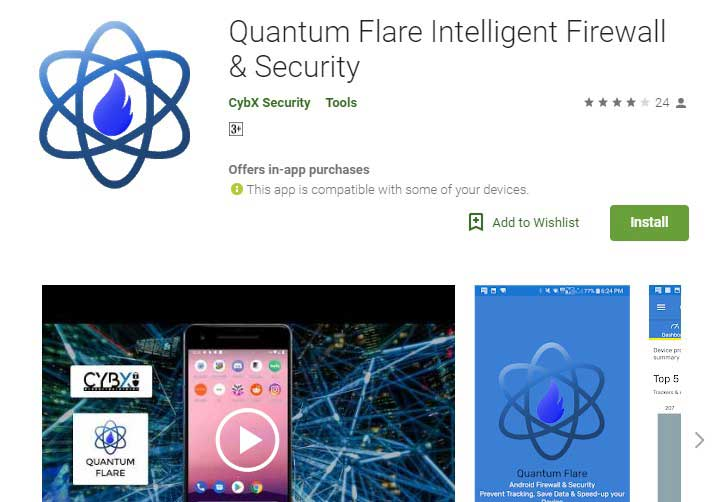 Quantum Firewall App for android