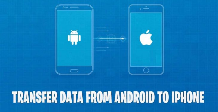 How to Transfer data from android to ios