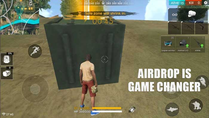 Garena Free Fire Airdrops