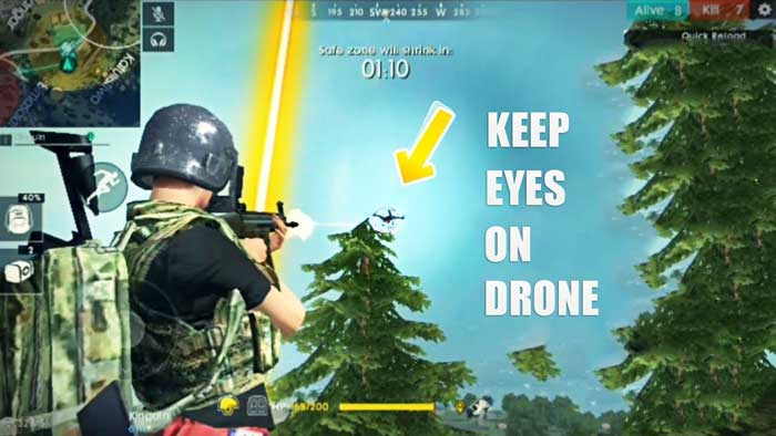 Watch drone in Garena Free Fire